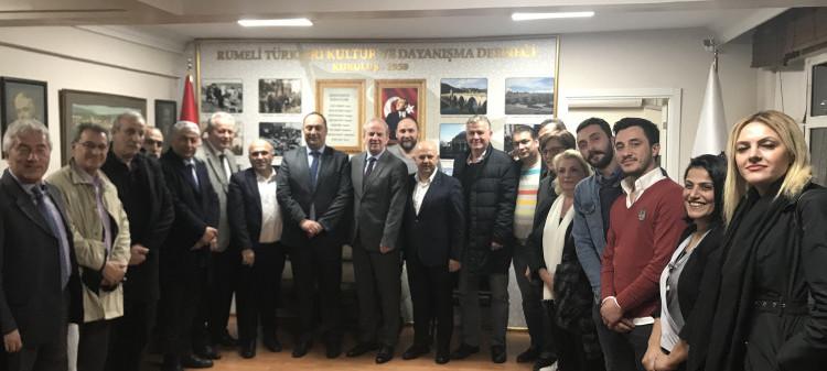 CHP Fatih Belediyesi Başkan Adayı Sayın Soner'in Özimer ziyareti