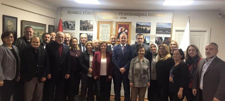 Kosova Prizrenliler Derneği'nin Derneğimize Ziyareti
