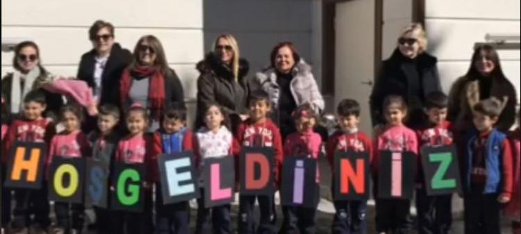 Zehra Galip Sumra Atatürk İlkokuluna Yardım Projesi