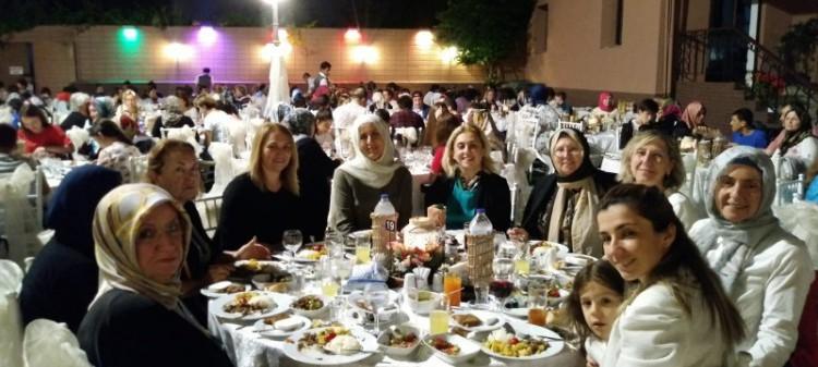 Erzak ailelerimizle iftar