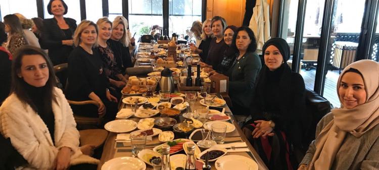 Kadın Komisyonumuz Kahvaltıda